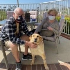 Senior pup finds perfect family!