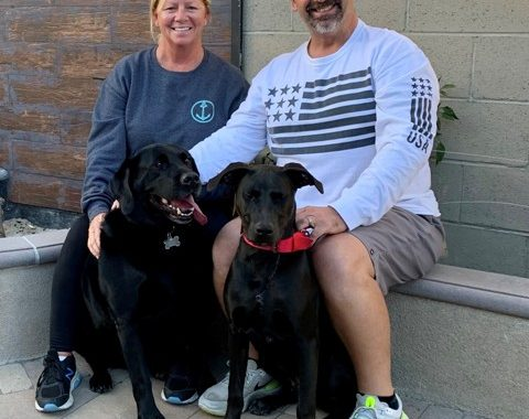 Pandemic Pup lands perfect family!
